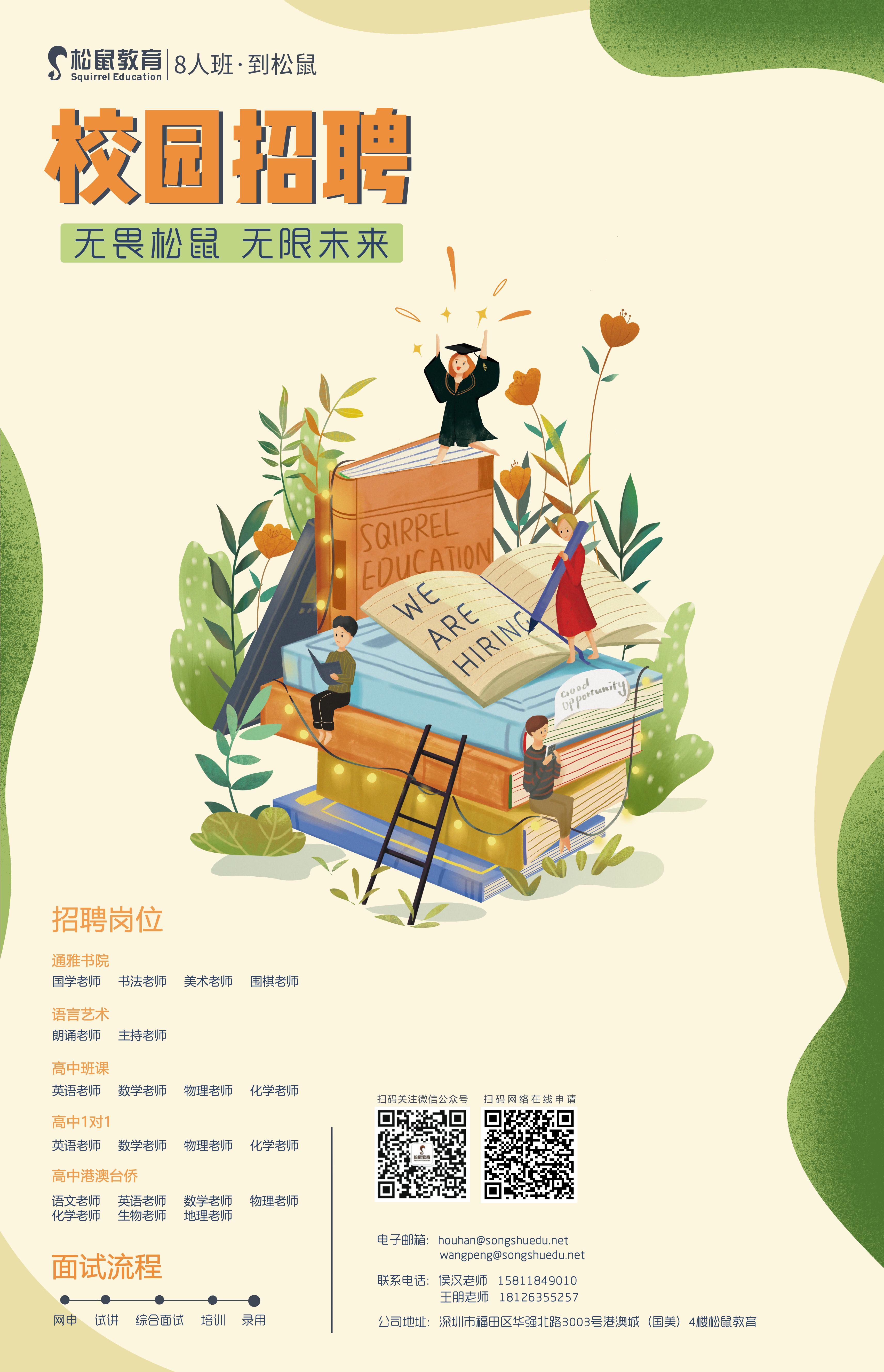 深圳市松鼠教育科技有限公司宣讲会